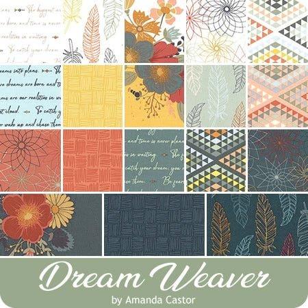 Riley Blake - 5in Squares Dream Weaver, 42pcs, 3 bundles per pack