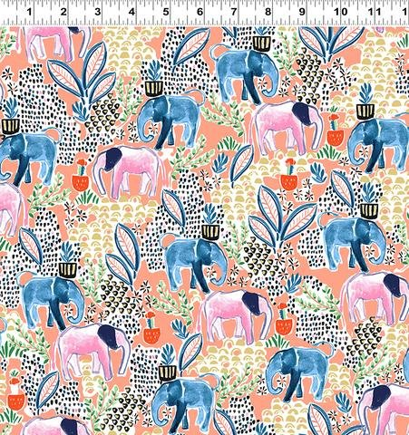 Elephant's Garden (Coral Metallic) Y2408-39M