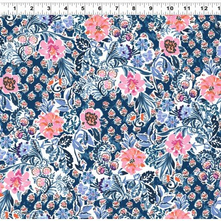Elephant's Garden (Light Navy) Y2407-93