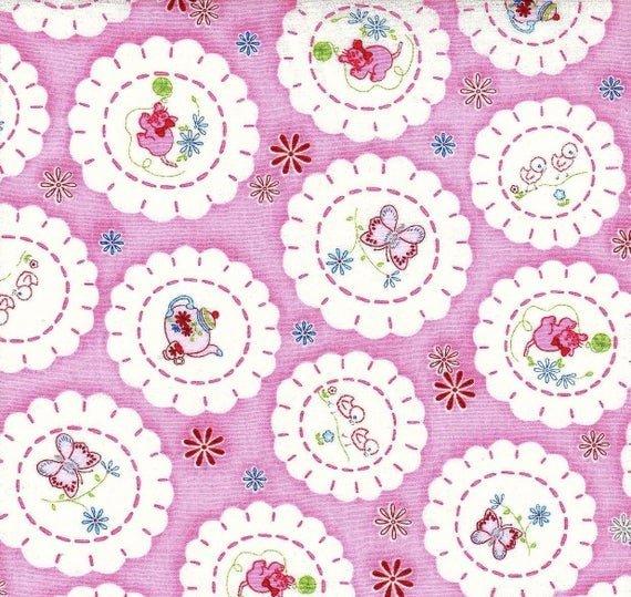 Fancywork Box - Doilys - Pink