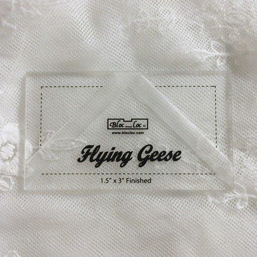 Bloc Loc Flying Geese Ruler 1.5 x 3