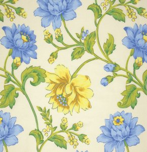 Glorious Garden - Rosehip - Ecru