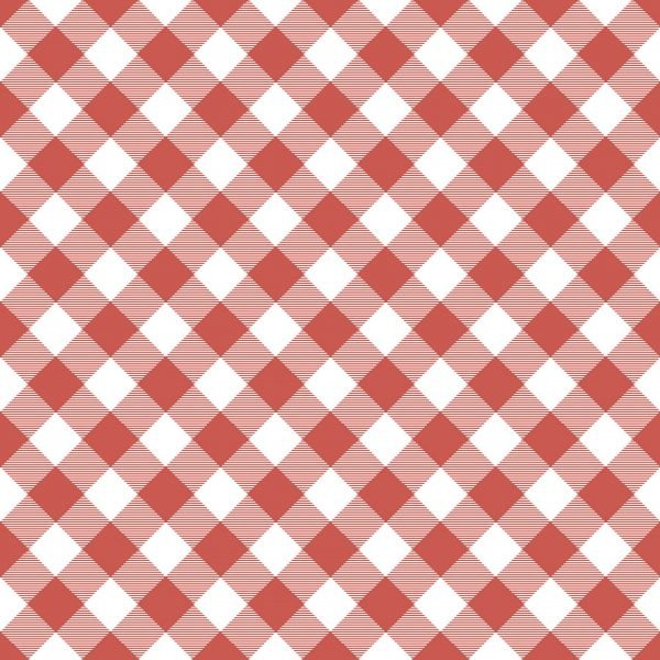 Prairie Sis Gingham Red