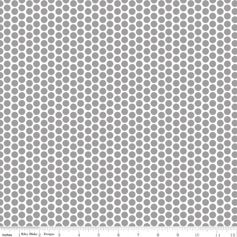 Honeycomb Dot - Gray