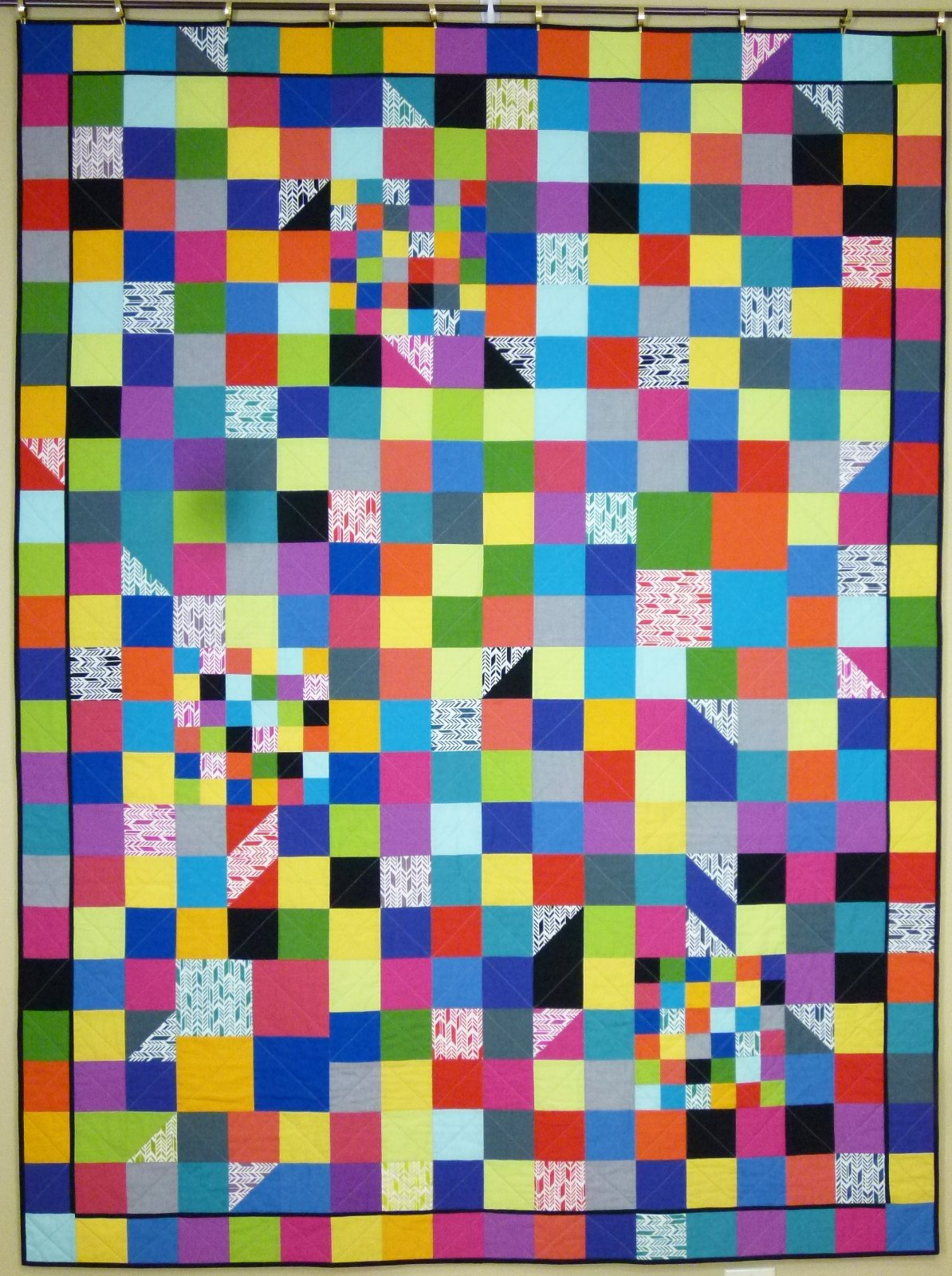 Happy Squares pattern