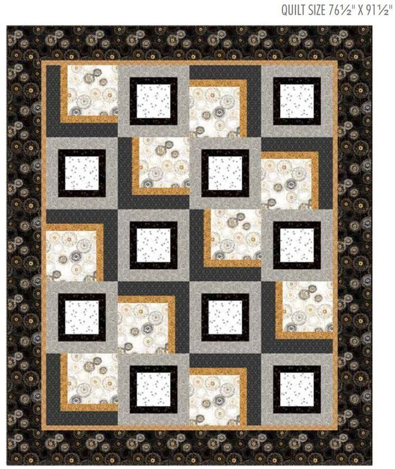 Whisper Dandelion Quilt Kit