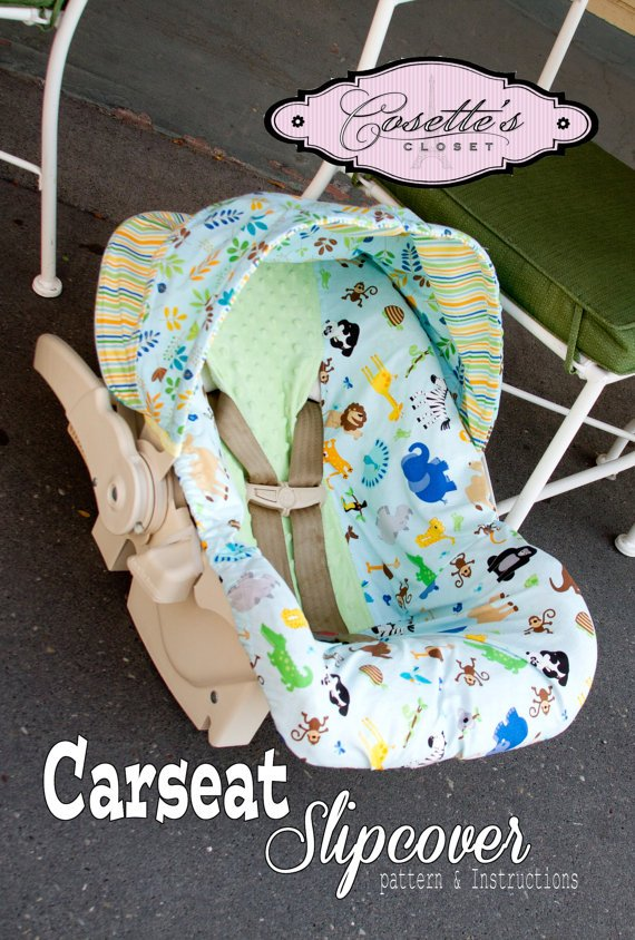 Carseat Slipcover Pattern