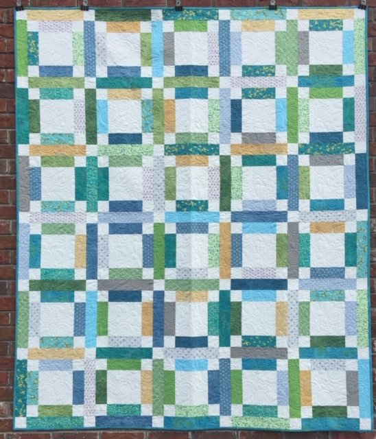 Grandma Mary's Five Patch Quilt Kit 61 x 72