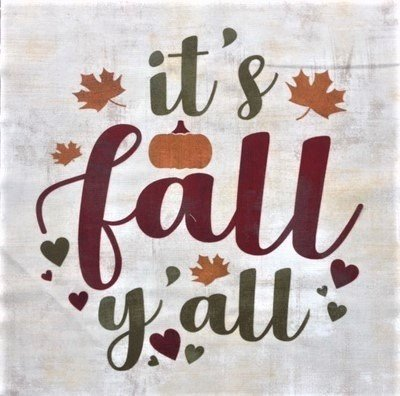 It's Fall Y'all - 12 Mini Quilt