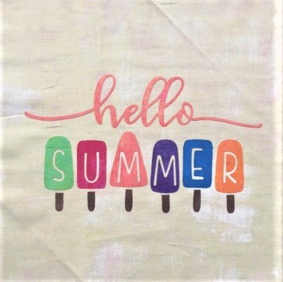 Hello Summer - 12 MIni Quilt