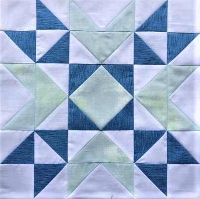 Snowflake Star - makes 12 Mini Quilt