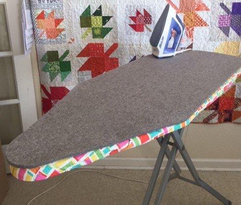 Wool Ironing Board Mat - custom cut