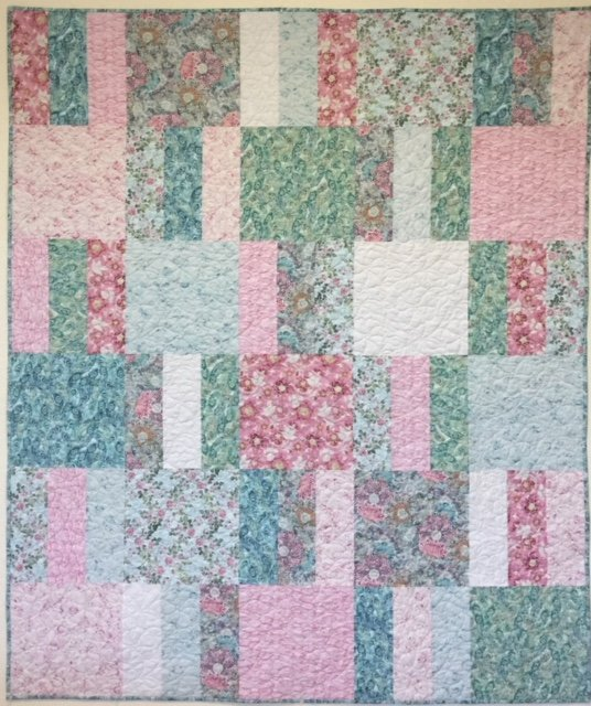 Snuggle up Quilt Pattern (60x72)