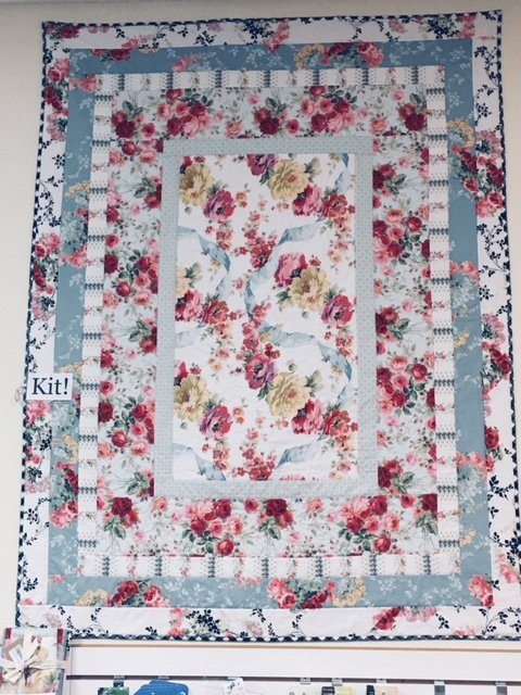 Ribbons and Roses Quilt Kit