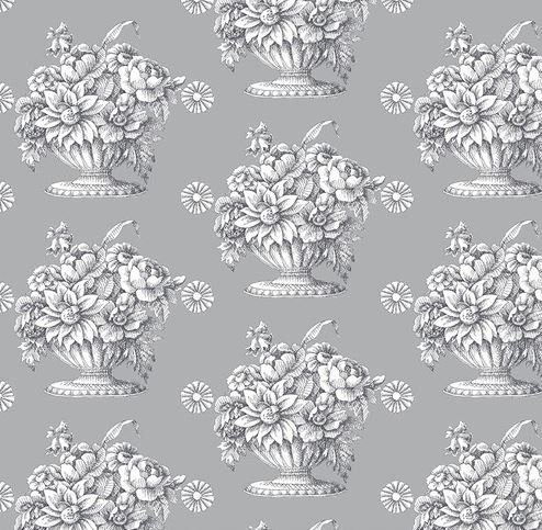 Stone Flower - Grey by Kaffe