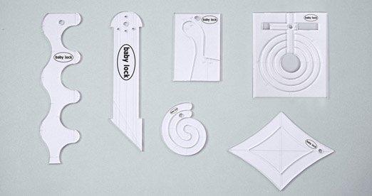 Baby Lock Ruler Kit for Low Shank