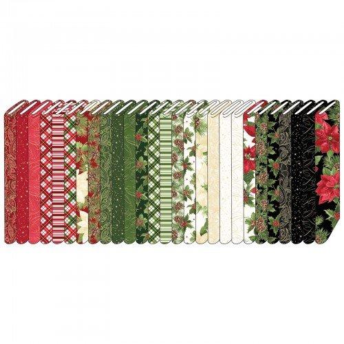 2-1/2in Strips Glad Tidings, 40pcs/bundle