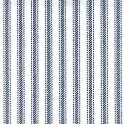 Navy Stripe Ticking 45
