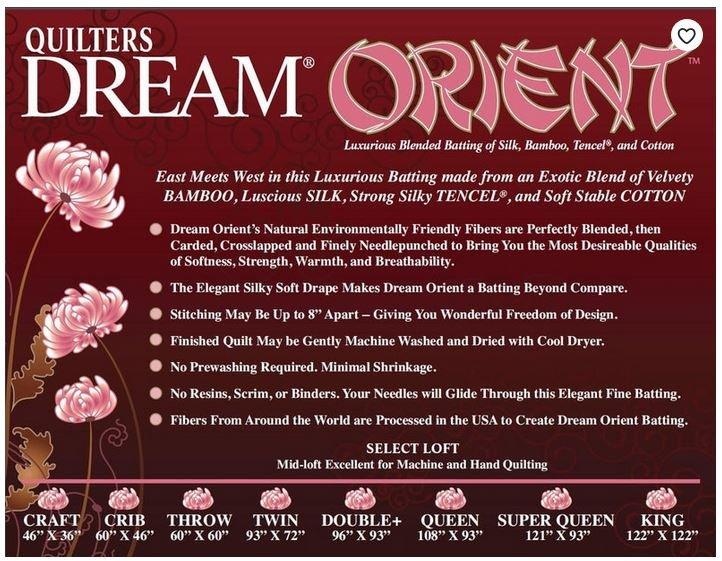 Orient Queen 108 x 93