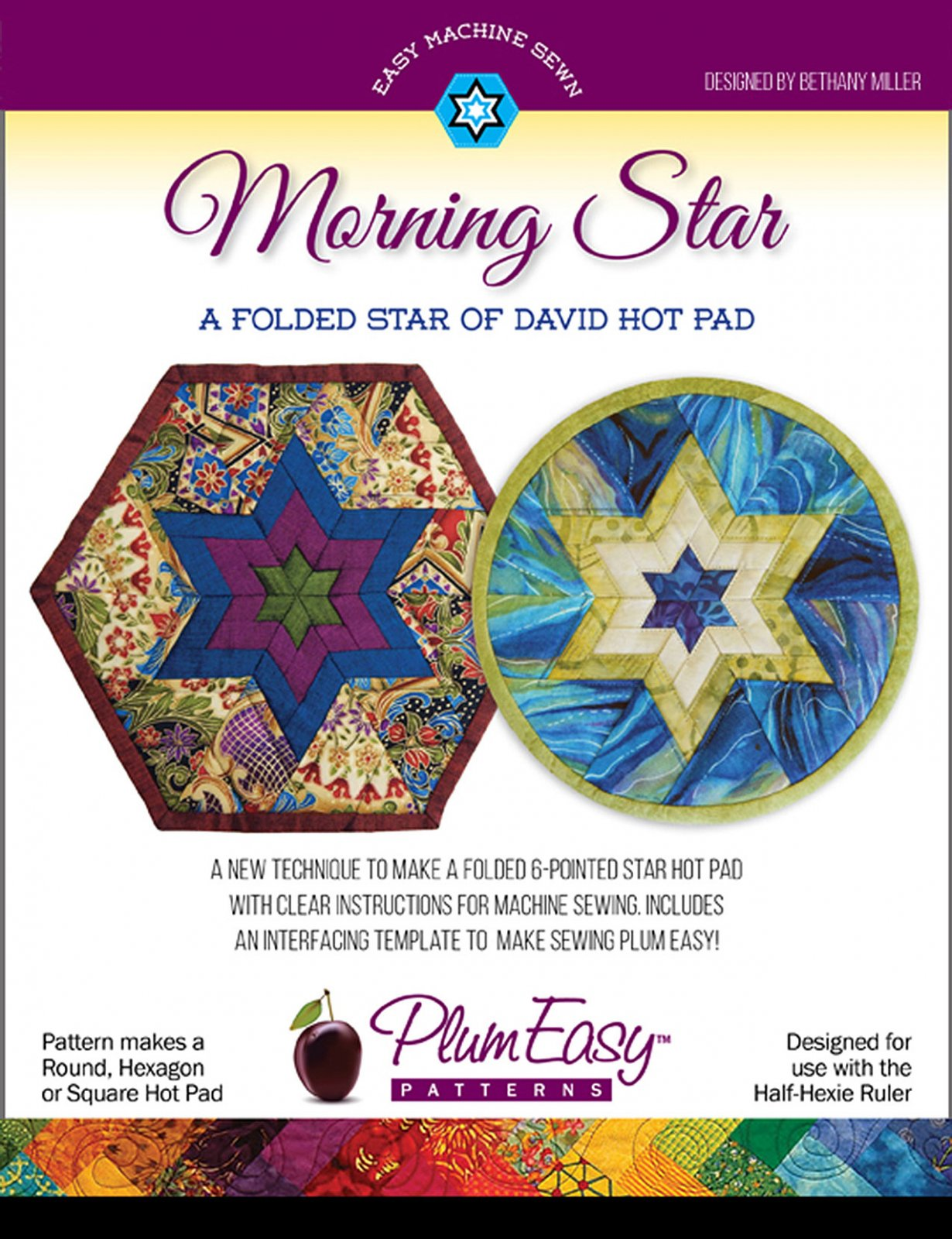 Morning Star Folded Hot Pad