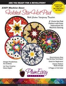 8 Folded Star Hot Pad