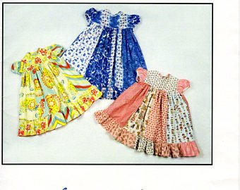 Quilters Quarters Dress 4-6yrs