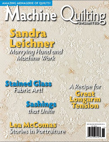 Machine Quilting Magazine