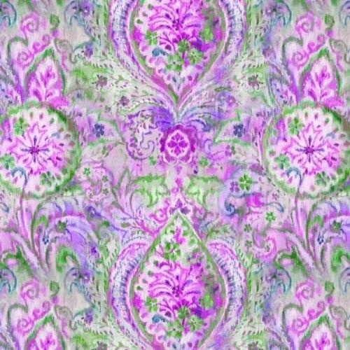 Bohemian Dreams - Purple Boho Paisley