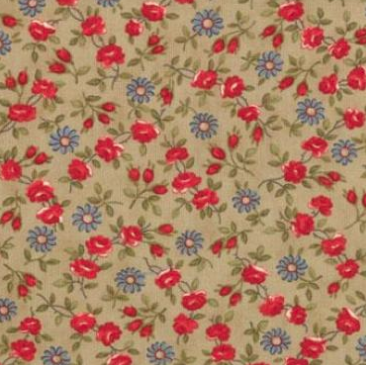 Moda - Minick & Simpson - American Banner Rose - 14724 12