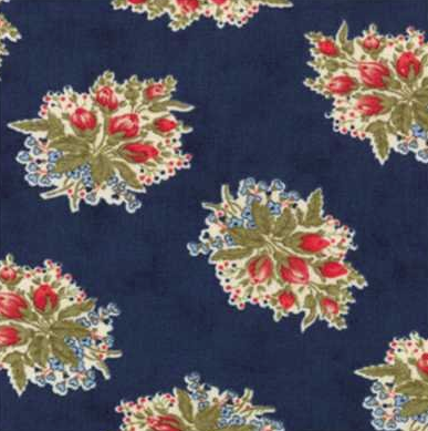 Moda - Minick & Simpson - Amercan Banner Rose - 14721 14