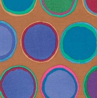 Free Spirit - Kaffe Fassett - Artisan - Paint Pots - Blue