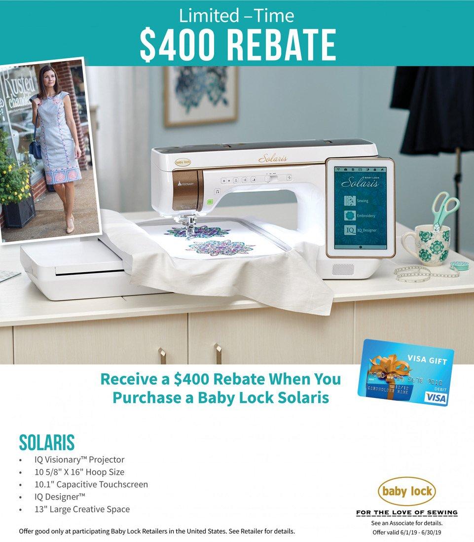 Baby Lock Western NC Franklin North Carolina Specials Sales