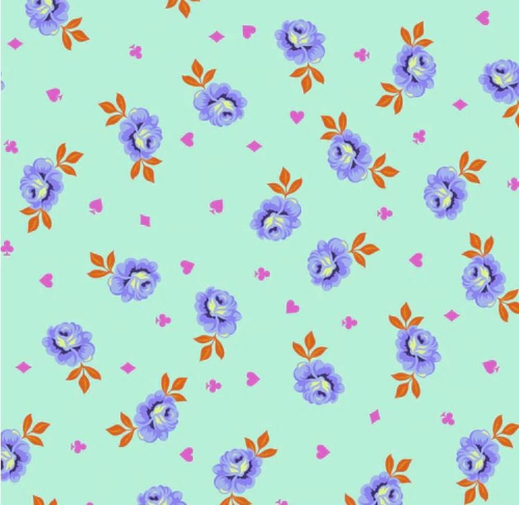 Free Spirit - Tula Pink - Tula Big Buds Daydream 108 wideback