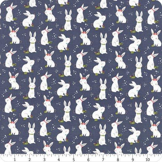 Winifred Rose Bunny Navy