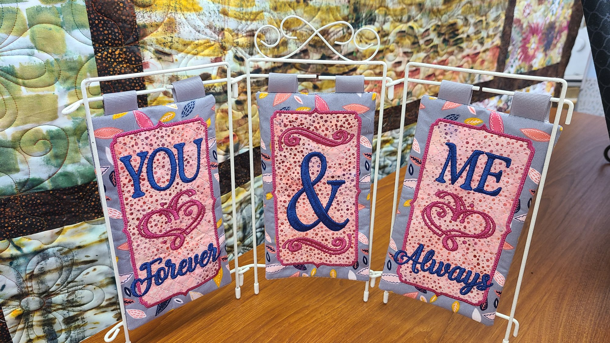You & Me fabric kit