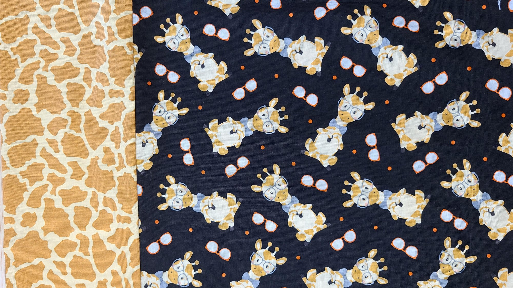 Wild & Free Giraffe Pillowcase Kit