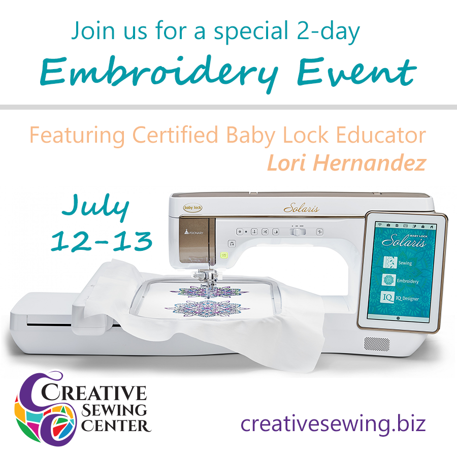 2-Day Embroidery Event w/ Lori Hernandez