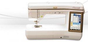 Crescendo sewing machine