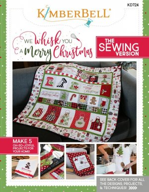 sewing pattern white border