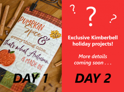 Kimberbell 2-day event