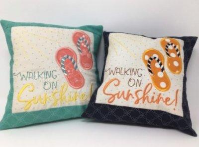 Kimberbell free pillow design