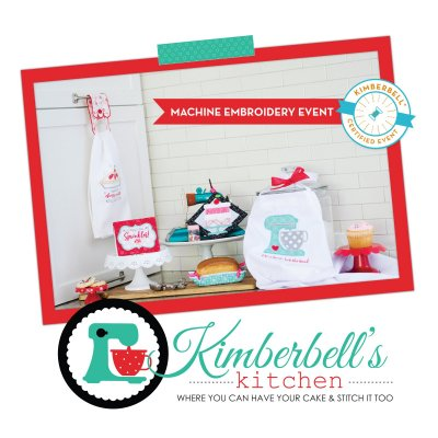Kimberbell's Kitchen embroidery event