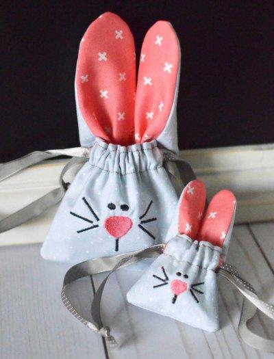 bunny cinch bag