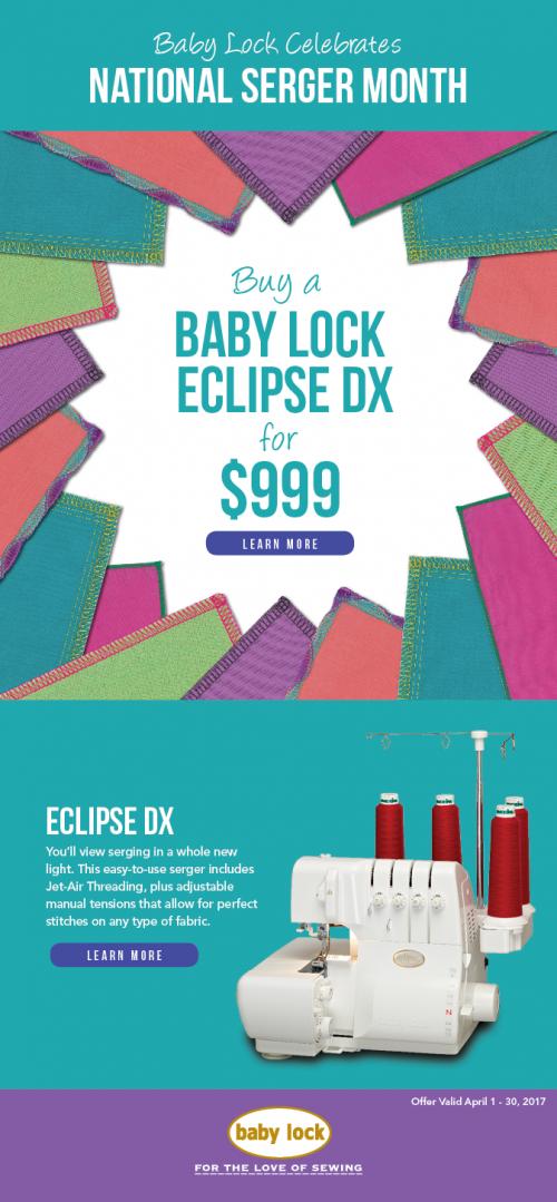 Eclipse dx April 2017 sale