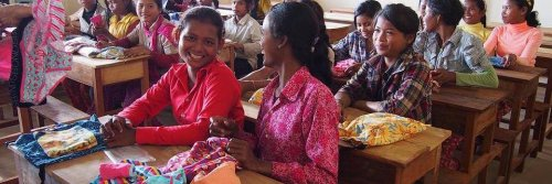 Days for Girls in classroom