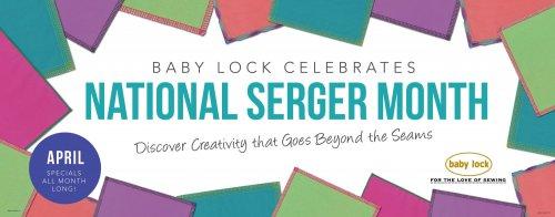 National Serger Month
