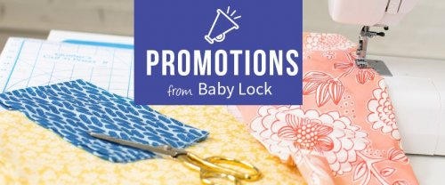 Baby Lock promotions