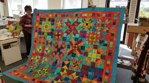 Radiant Reflections quilt