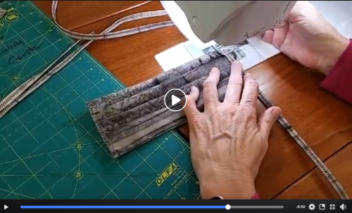 video on making face masks