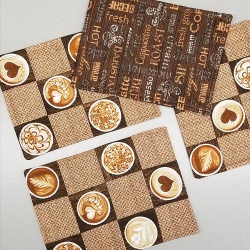 common grounds mug rugs
